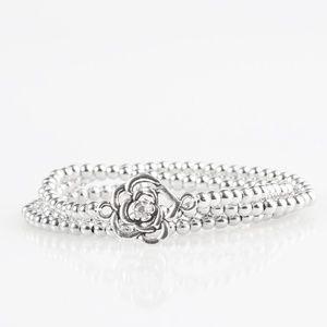 Perennial Princess - White Bracelets
